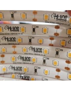 12V warmer weißer LED-Streifen 14.4W / m IP65-CRI80-SMD2835