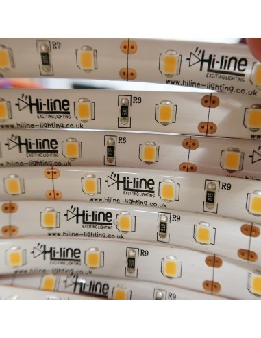 12V Warm White LED Strip 14.4W/m- IP65-CRI80-SMD2835