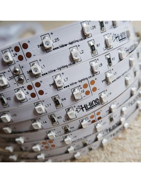 LED-Streifen Grün 4.8W/m 24V IP00 SMD3528