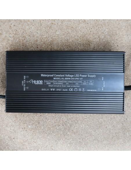 24V 600W IP67 Premiumserie LED-Treiber
