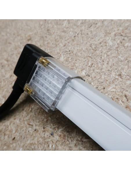IP65 Bottom Exit Stromanschlusskit für einfarbige 10x20mm LED Neon Flex