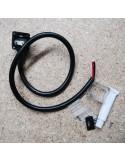 IP68 Side-Exit power connector kit for Single colour 10x20mm LED Neon Flex