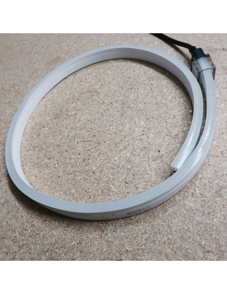 Warm White LED NEON FLEX 2800K 24V IP65/IP67 10x20mm (Sold Per Metre)