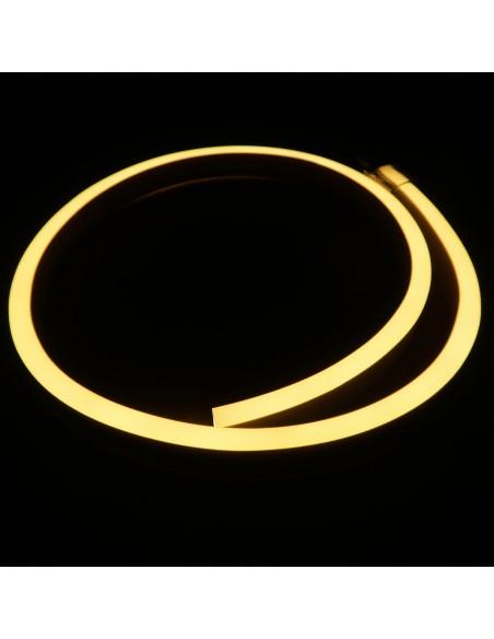 Warm White LED NEON FLEX 2800K 24V IP68 10x20mm (Sold Per Metre)