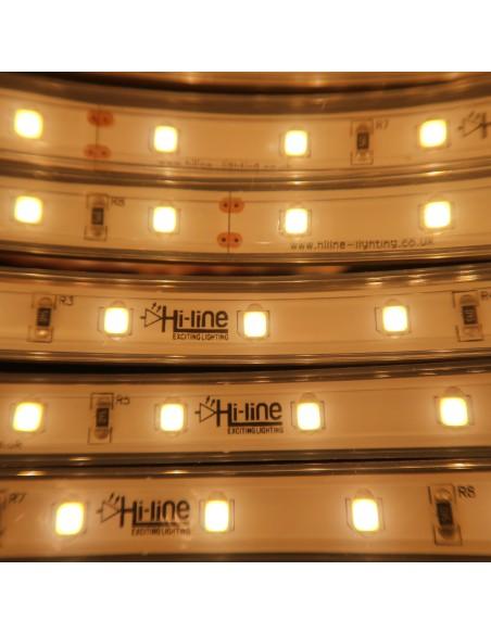 IP67 5m Warmweiß LED Streifen 24V 14,4 W / m