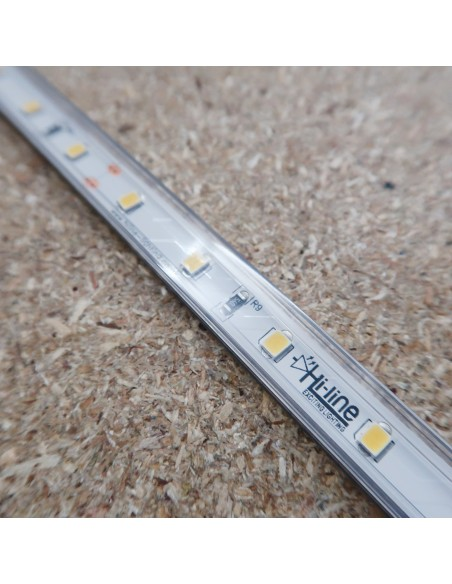 IP67 Natural White LED Strip 24V 14.4W/m
