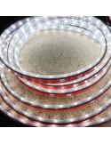 IP67 5m Kaltes Weiß LED Streifen 24V 14,4 W / m