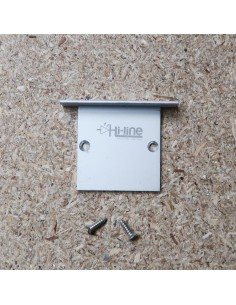 Aluminium Closed End Cap for HL-4938WN31 (Recessed LED Profile)