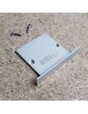 Geschlossene Endkappe aus Aluminium für HL-4938WN31 (LED-Einbauprofil)