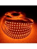 LED-Streifen Bernstein 9,6W/m 24V IP65 SMD3528