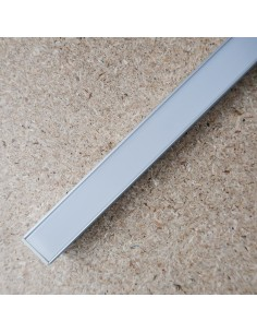 Trimless recessed LED profile extrusion