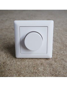 0-10V Wall Dimmer Switch white plastic cover