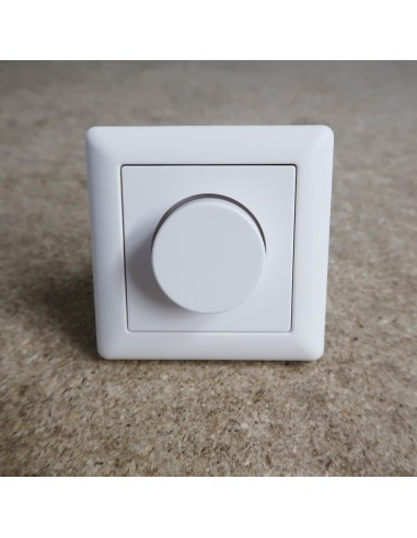 Built-in Power Switch 1-10V Plastic Wall Dimmer