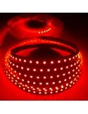 Red LED Strip 24V-9.6W/m- IP00-SMD3528