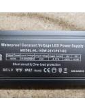24V Constant Voltage LED Driver 100 Watt IP67 (EC Series)