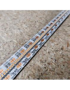 700 LEDs/m 2700K warmweißer LED streifen 24V 24 w/m IP00 CRI90 SMD 2110 5m rolle