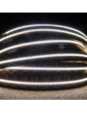 700 LEDs/m 5000K White LED Strip 24V 24 W/m IP00 SMD 2110 CRI90 5m roll