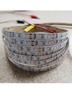 6000K Cool White LED Strip 24V 14.4W/m IP00 SMD 2110 CRI90 180/m 5m roll