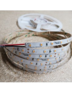 IP65 3000K 24V 7.2W/m Warm White LED Strip CRI90 5m roll