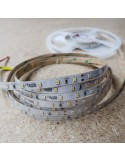 IP65 6000K 24V 7.2W/m White LED Strip IP00 CRI90 5m roll
