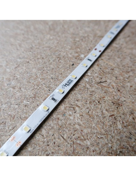 6000K 24V 7.2W/m Cool White LED Strip IP00 CRI90 5m roll