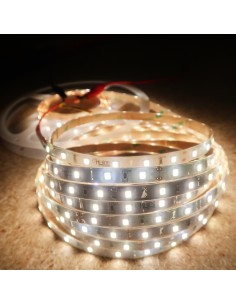IP65 4000K 24V 7.2W/m White LED Strip CRI90 5m roll