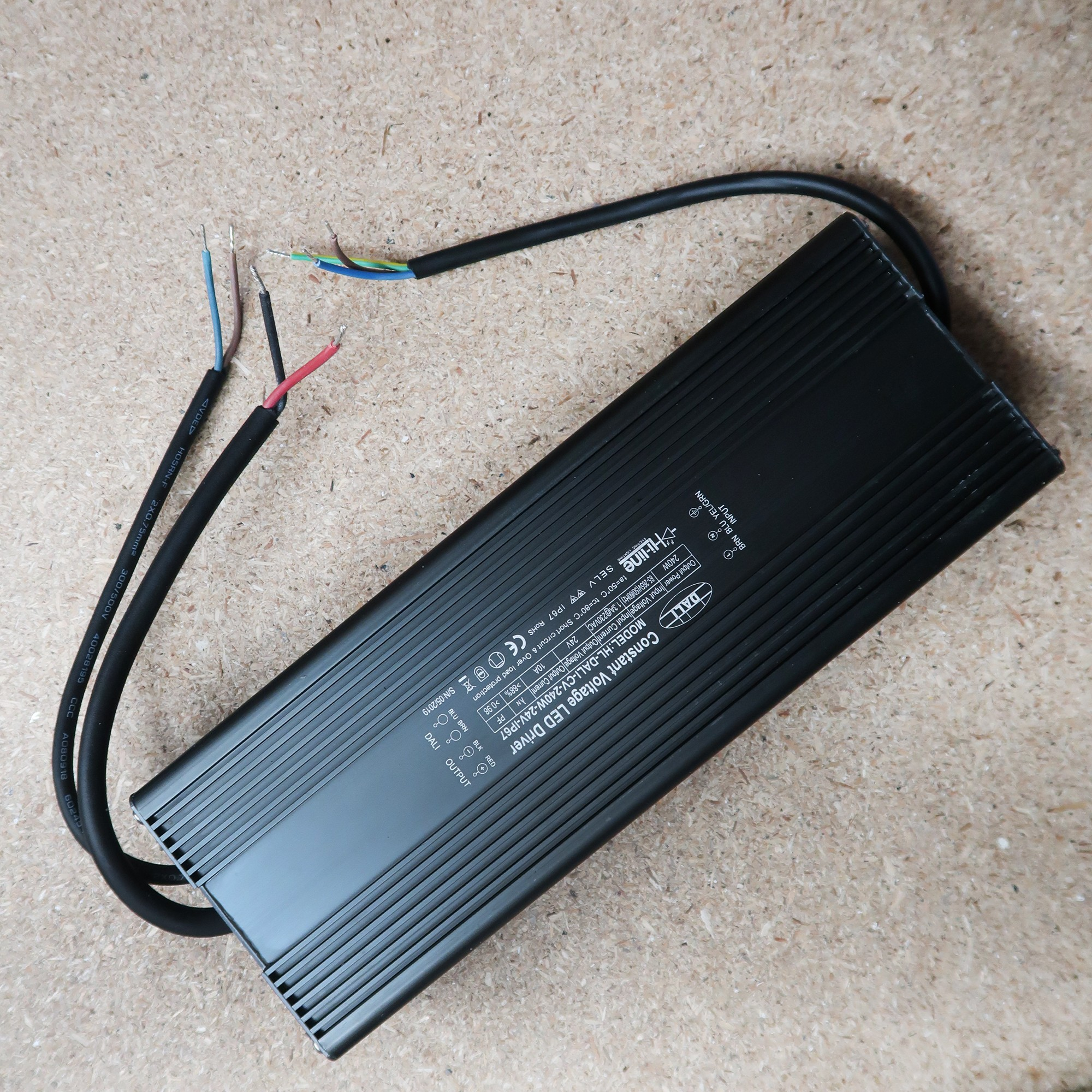 DALI LED Dimmable Driver 24V 240W
