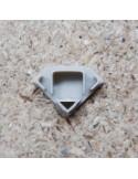 Closed End Cap for HL-ALU007MC (Corner Profile Extrusion)