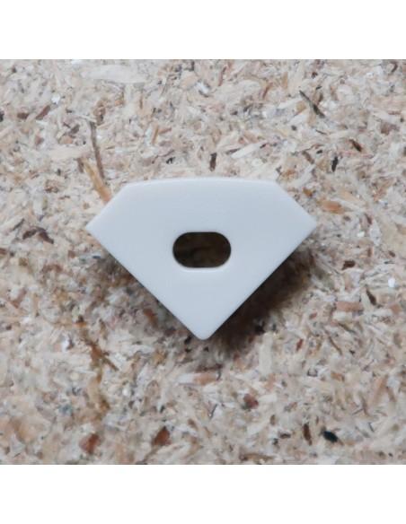 Open End Cap for HL-ALU007MC (Corner Profile Extrusion)