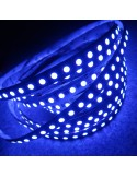 480 LEDs RGBW LED Streifen (96 x RGB+WW/m) 24V-23 W/m- IP00 12mm/3oz PCB-5m Rolle