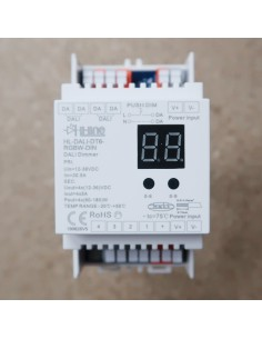 DALI 4 channel LED strip controller DIN rail (DALI Type 6)