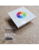4 Zonen DMX RGBW-RGB LED Einbau-Controller (weiß)