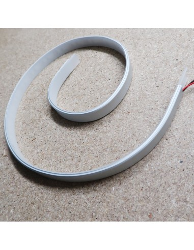 Bendable LED profile extrusion