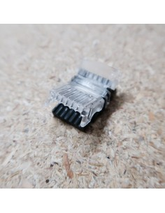 RGB-Tunable white 6 pin strip to power connector for 12mm IP00 LED tape RGBW-TW