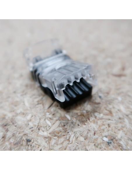 Strip-to-Wire-Steckverbinder für einfarbige 10-mm-IP00-LED-Streifen mit hoher Dichte