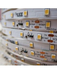 30m roll cool white 6000K cri 90 LED Strip 24V 4.8w/m 115 lm/watt IP00