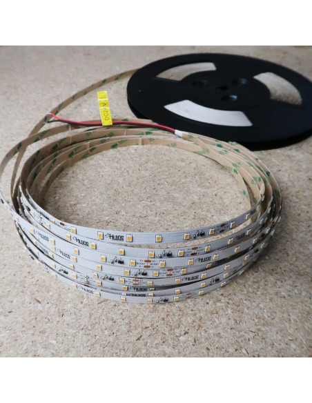 30m roll White 4000K cri 90 LED Strip 24V 4.8w/m 115 lm/watt IP00