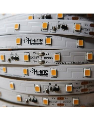 30m rolle warmweißer 2700K cri 90 LED-Streifen 24V 4,8 w/m 115 lm/w IP00