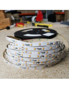 20m roll warm White 2700K cri 90 LED Strip 24V 4.8w/m 115 lm/watt IP00