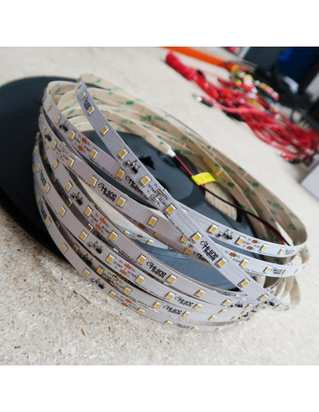 20m roll cool white 6000K cri 90 LED Strip 24V 4.8w/m 115 lm/watt IP00