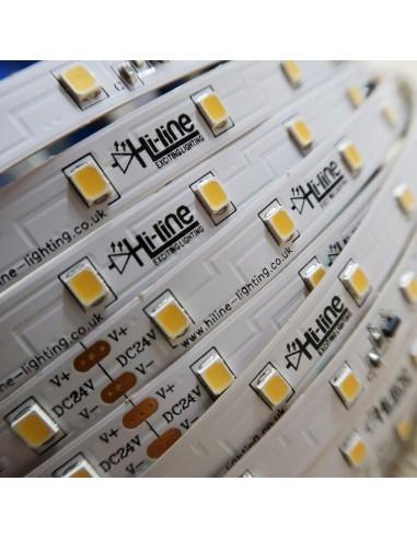 30m rolle weiss 5000K cri 90 LED-Streifen 24V 4,8 w/m 115 lm/w IP00