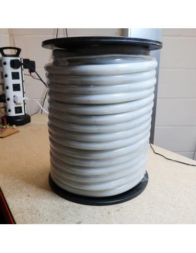 Cool White Circular 360° LED Neon Flex 24V 10 w/m IP65/68 18mm (Sold Per Metre)