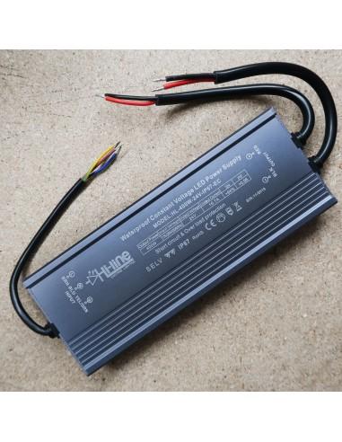 LED Driver 400W 24V IP67 high efficiency constant voltage (EC Series)
