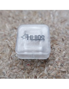 End Cap for HL-IP671717WP2 waterproof LED profile (17x17mm)