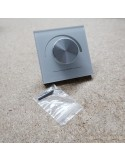 DC Dimmer Switch 12 or 24V for single colour LED strip lighting (wall mount)