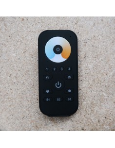 ZigBee tunable white LED strip Remote Control 4 zones