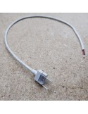 IP68 strip to power 500mm connector for 12mm LED tape single colour