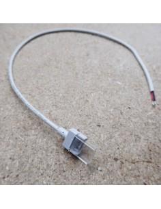 IP68-Streifen zur Stromversorgung eines 500-mm-Steckverbinders für einfarbiges 12-mm-LED-Band