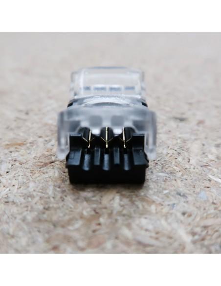 Lötfreie Stromanschluss-Verbindungsklemme für 3 Leiter LED-Streifen 10mm, IP00