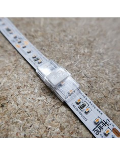 LED Profile strip to strip connector for 10mm IP00/20 LED tape single colour